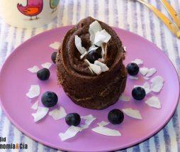 Receta fácil de mugcake