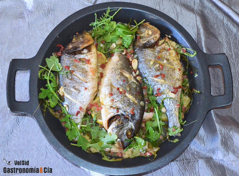 Recetas de pescado al horno para el men de nochevieja for Comidas para nochevieja