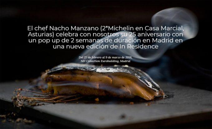 La cocina de Casa Marcial en Madrid