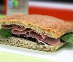 Huella de carbono de los sándwiches