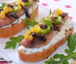 Receta con sardina ahumada