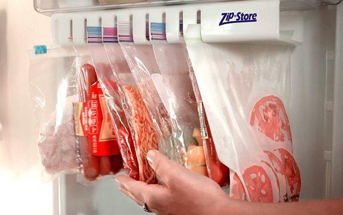 Cold n Store, soporte deslizante para bolsas Ziploc