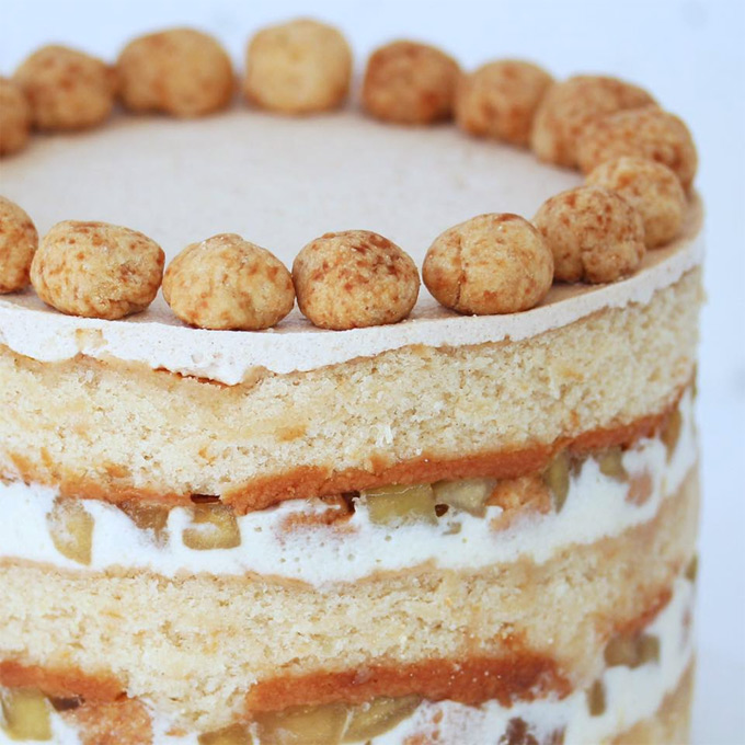 Apple pie layer cake de Christina Tosi