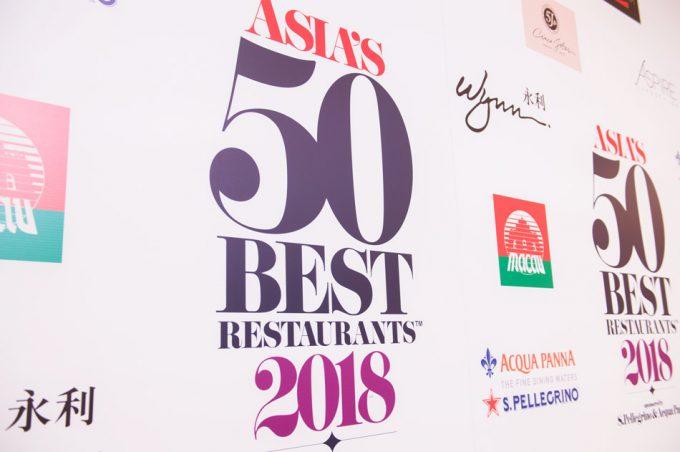 50 Mejores Restaurantes de Asia 2018