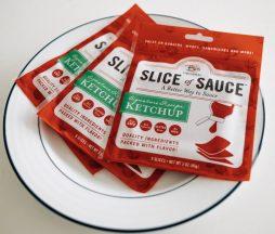 rebanadas de salsa kétchup