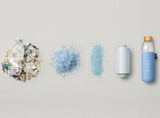 Funda de neopreno elaborada con plástico de botellas recicladas para ...