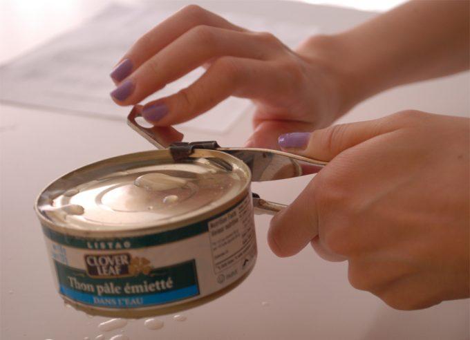Exceso de zinc en las latas de conserva