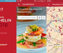 App Guía Michelin Europa digital