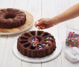 Molde para pastel con relleno sorpresa