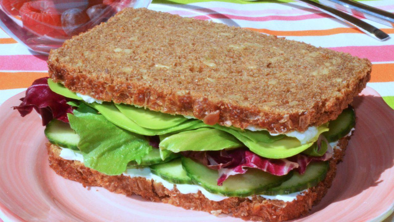 receta facil de pan integral