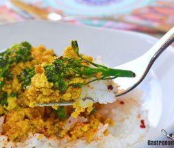 Receta con tofu desmigado