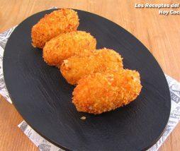 Hoy Cocinas Tú: Croquetas de queso Stilton