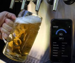Monitor para el barril de cerveza