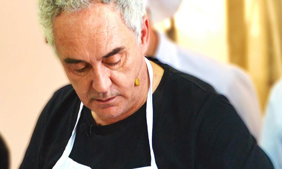 ¿Te atreves a cocinar con Ferrán Adrià?