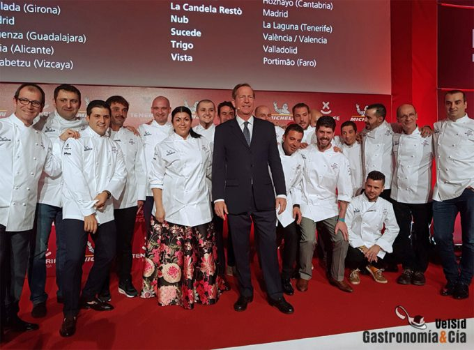 Guía Michelin 2019