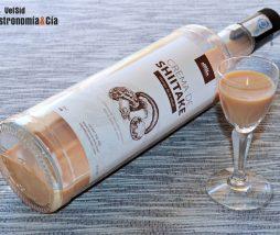 Licor de crema de seta shiitake