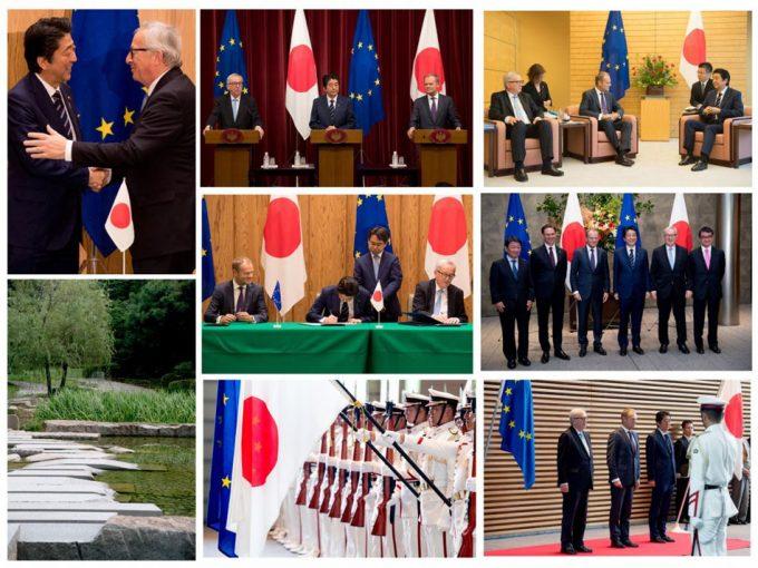 Tratado de comercio entre la UE y Japón