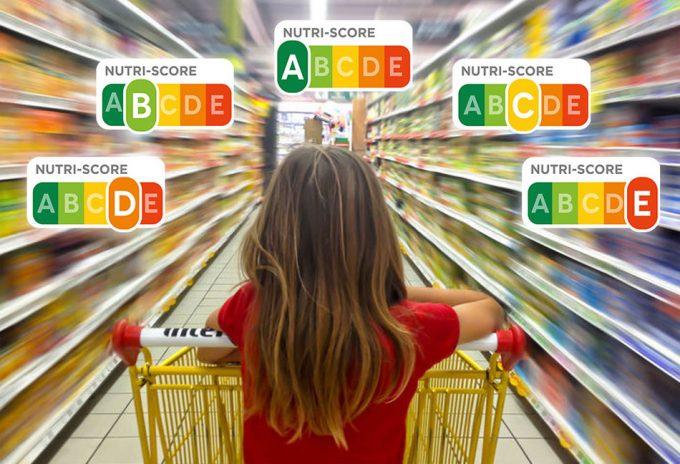 Etiquetas NuriScore, información sobre el carácter saludable de los alimentos