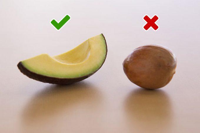 La semilla de aguacate puede ser tóxica