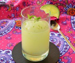 Sorbete casero de limón y lima