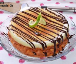Receta de tarta de queso ricotta fácil