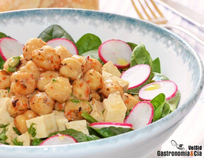 12 Recetas De Ensaladas Vegetarianas Con Legumbres Para Cenar En Verano Gastronomía Cía