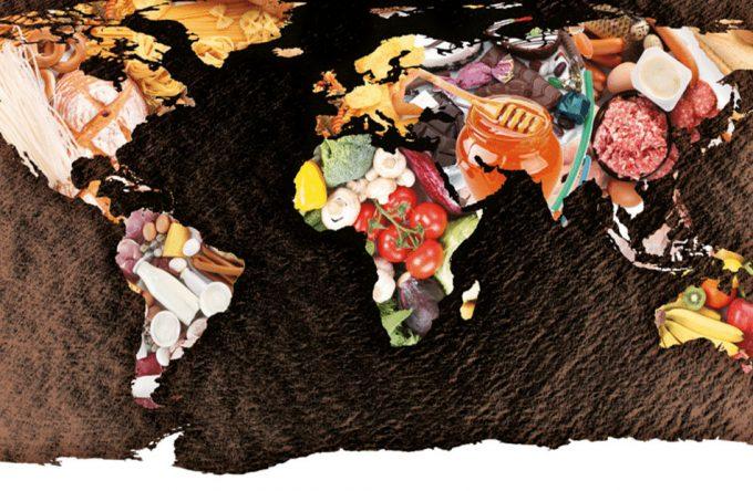 Piramides nutricionales de diferentes países del mundo