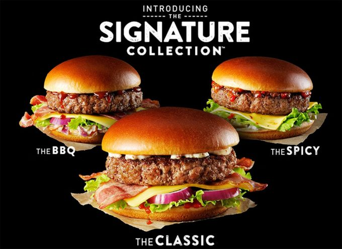 Nuevas hamburguesas de McDonald's en el Reino Unido