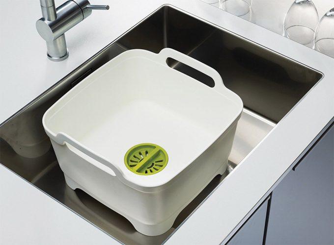 Un fregadero portátil que ayuda a ahorrar agua