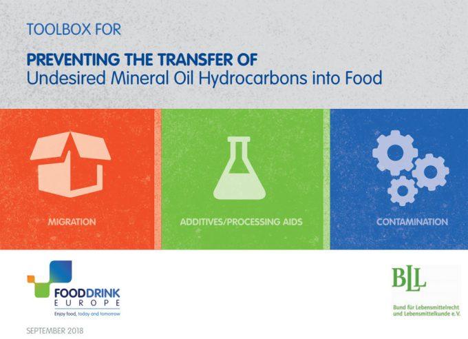 Guía de la FoodDrinkEurope (FDE) sobre los hidrocarburos de aceites minerales