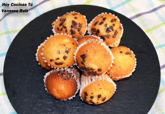 Hoy Cocinas Tú Mini Magdalenas Con Chips De Chocolate
