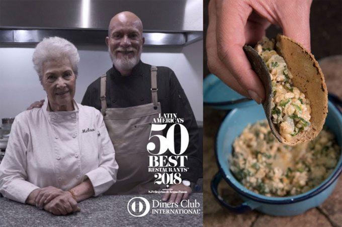 Premio a los cocineros del Restaurante Nicos de México