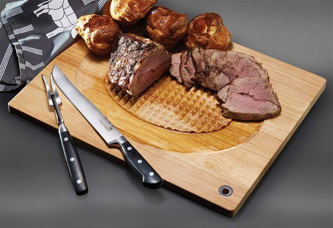 Tabla de corte para carne asada