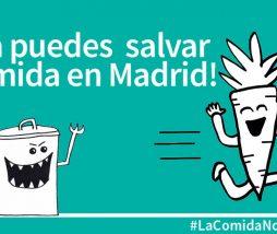 Salvar comida en Madrid