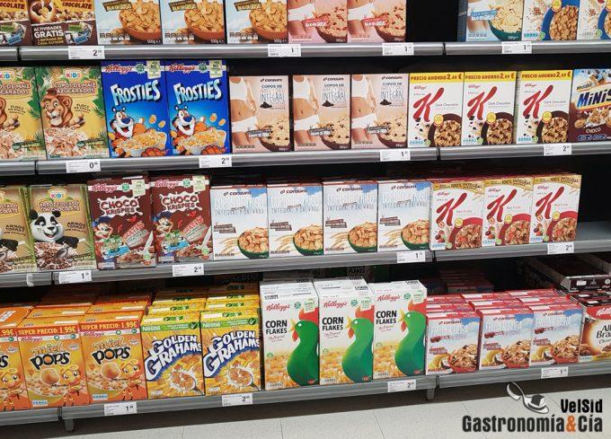Contenido de glifosato en los cereales de avena para el desayuno