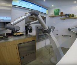Robot pizzero totalmente autónomo