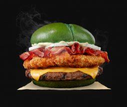 Nueva hamburguesa de Burger King para celebrar Halloween