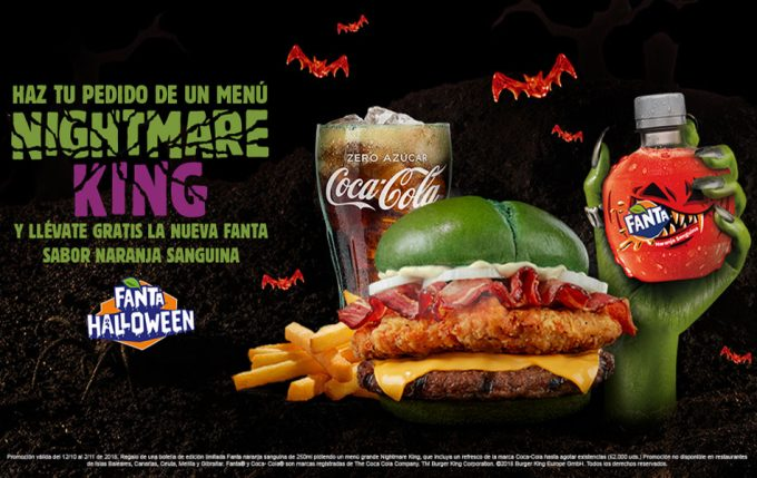 Hamburguesas para celebrar Halloween