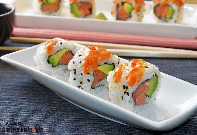 Recetas de sushi para hacer en casa