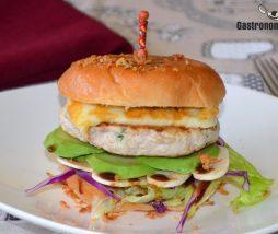 Receta de hamburguesa