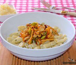 Receta de pasta vegetariana