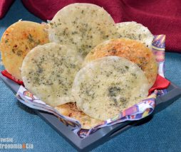 Crujientes de queso