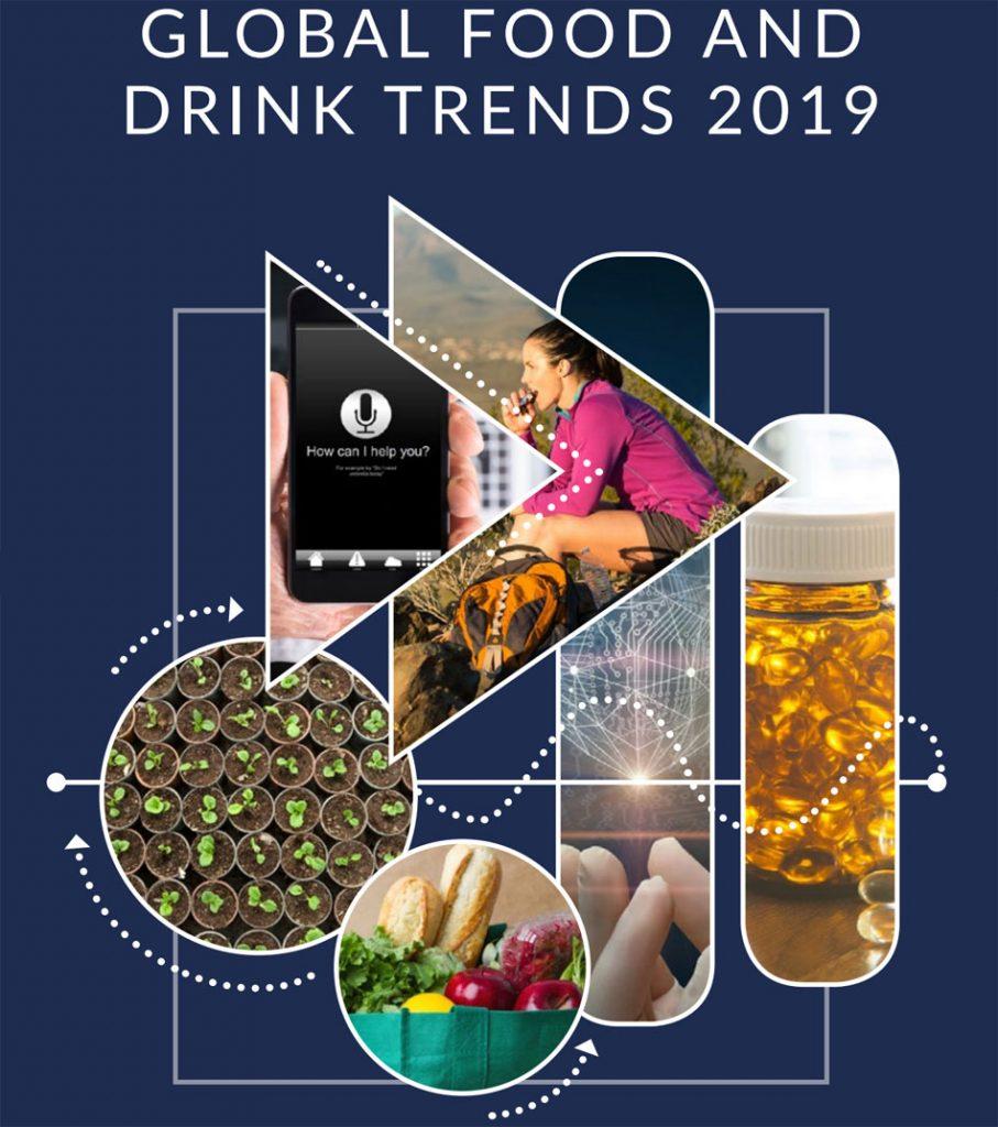Tendencias en el sector de las bebidas y la alimentación para el año 2019