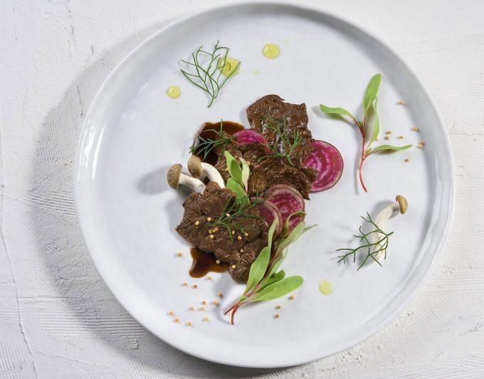 Cata de la carne a base de células de Aleph Farms