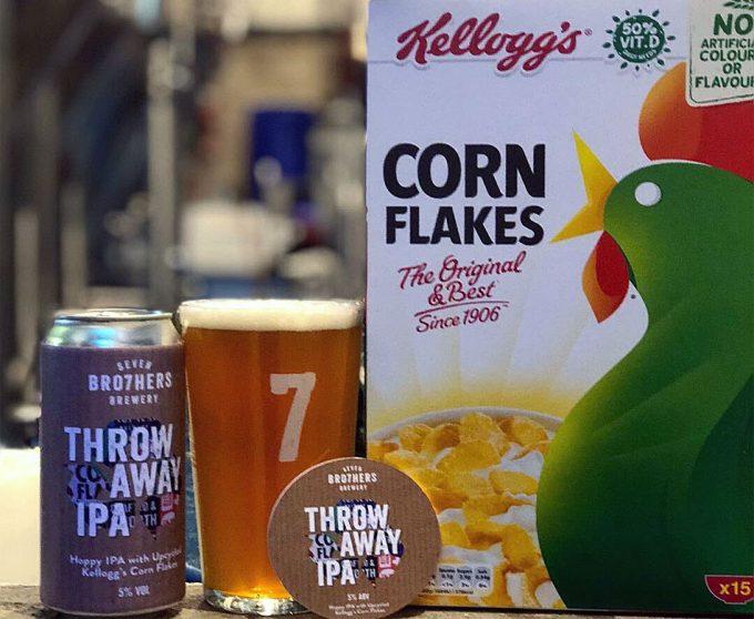 Cerveza elaborada con desechos alimentarios