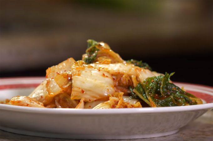 Elaboración del Kimchi