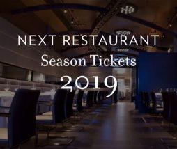 Nuevos menús de Grant Achatz para 2019