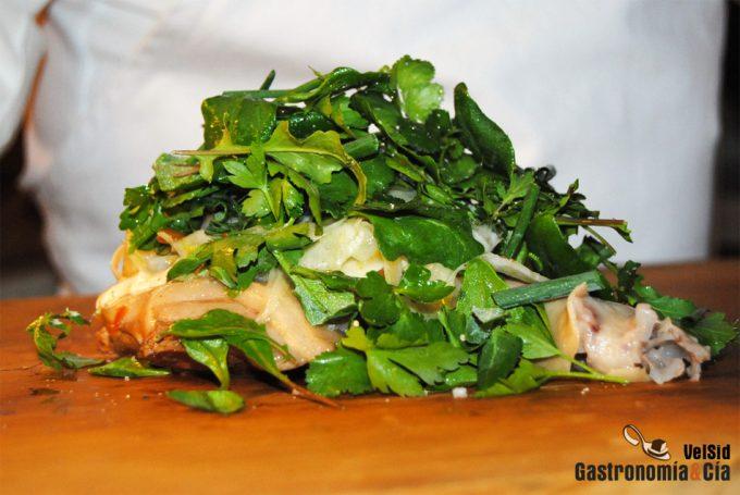 Las recetas tradicionales y de vanguardia de los chefs