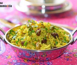 Receta de arroz pilaf