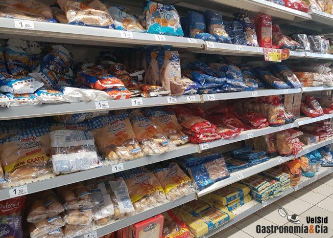 Las etiquetas alimentarias informan a los consumidores